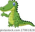 cartoon, crocodile, animal 27861828