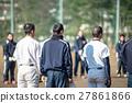 야구 선수들의 연습 풍경 27861866