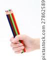 ดินสอสี,ดินสอ,เครื่องเขียน 27862589