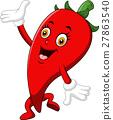 Chili Cartoon Character 27863540