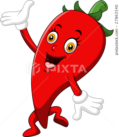 Chili Cartoon Character 27863540
