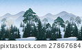 Seamless Winter Woodland Landscape 27867684