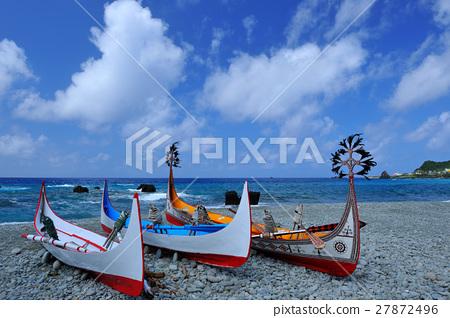 蔚藍海岸 漁船 27872496