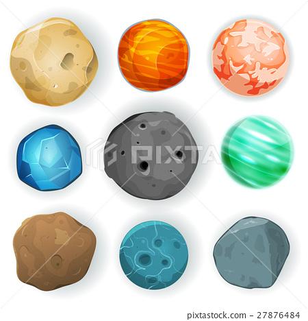Comic Planets Set 27876484