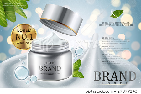 Cream cosmetic ads 27877243