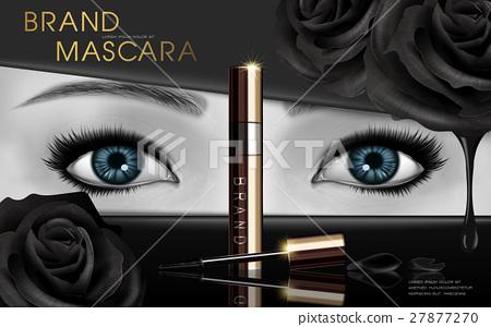 mascara design ad 27877270