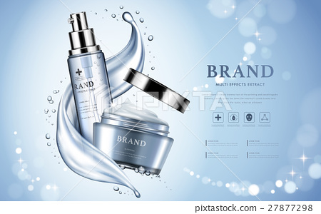 Moisturizing cosmetic products ad 27877298