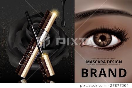 mascara design ad 27877304