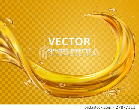 golden fluid element 27877313