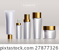 Blank cosmetic package design 27877326