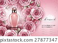 Attractive perfume or cosmetic ads 27877347