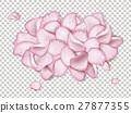Pink rose petals 27877355