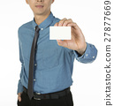 man with namecard 27877669