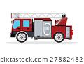 fire, truck, vector 27882482