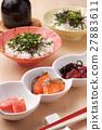 茶泡饭 日本食品 日本料理 27883611