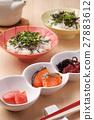茶泡饭 日本食品 日本料理 27883612