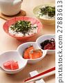 茶泡饭 日本食品 日本料理 27883613