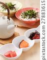 茶泡饭 日本食品 日本料理 27883615