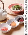 茶泡饭 日本食品 日本料理 27883616