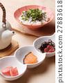 茶泡饭 日本食品 日本料理 27883618
