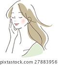 一個閉上眼睛的女人 27883956