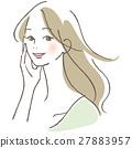 一個微笑的女人 27883957