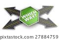 road, arrow, choice 27884759