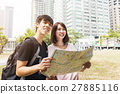微笑 地图 夫妇 27885116