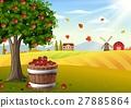 apple, tree, basket 27885864