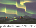 village under the Northern lights 27888912