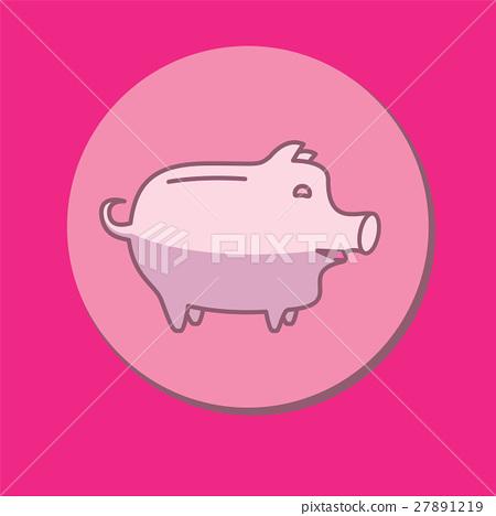 Piggy bank or money box 27891219