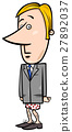businessman without pants cartoon 27892037