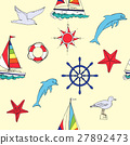 sea, vector, nautical 27892473