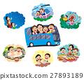家庭旅行 家庭 家族 27893189