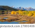 Teton Fall Landscape 27893406