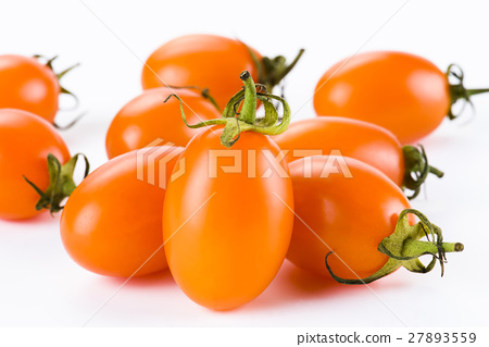 Virgin tomato on a white background 27893559