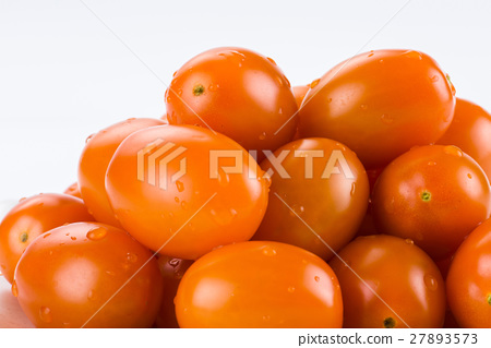 Virgin tomato on a white background 27893573