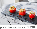 Tomato stuffed with couscous 27893909
