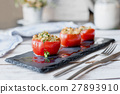 Tomato stuffed with couscous 27893910