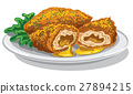 breaded chicken 27894215
