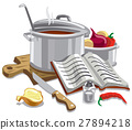 illustration cooking soup 27894218