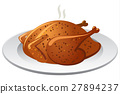 baked roasted chicken 27894237