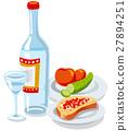 vodka and caviar 27894251