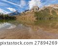 String Lake Fall Teton Reflection 27894269