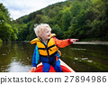 Little boy in kayak 27894986