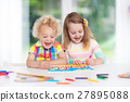 Kids paint and draw at home 27895088