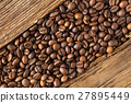 roasted coffee in beans 27895449