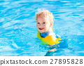 Little child in swimming pool 27895828