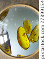 Amber stones with insects inside 27899154