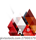 triangle abstract vector 27900379